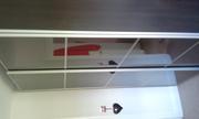 ikea wardrobe smoked class doors