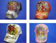 Various patterns of the ED Hardy fashion hat