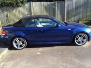 Bmw 118i 2008 BMW 118I M SPORT BLUE CONVERTIBLE