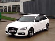 2013 Audi 2013 63 REG AUDI A4 2.0 TDI S LINE BLACK EDITION W