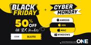 TheOneSpy Flat 50% OFF on BlackFriday & Cyber Monday